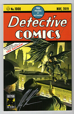 Detective Comics #1000 *Signed* Alex Ross Trade-Dress #27 Homage Variant Coa Nm-