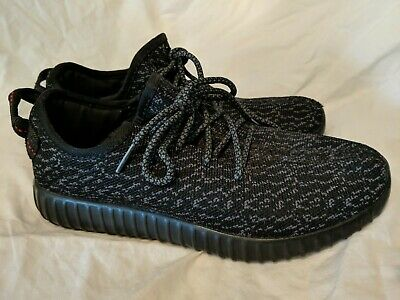 buy online f0187 f4eef ADIDAS YEEZY BOOST 350 Pirate Black V1 Size 7.5 40 Mens
