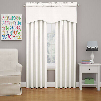 Eclipse Kendall Blackout Window Curtain Panel - 42x54-White