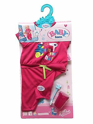 Zapf Creation Baby Born Doll Deluxe Fun In The Bathroom Outfit Toy Costume