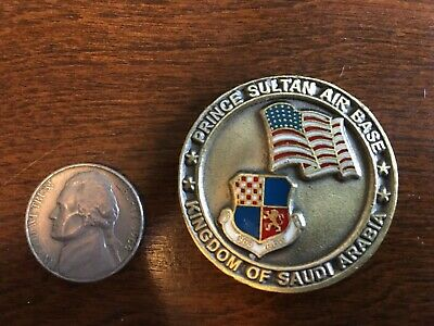 CHALLENGE COIN 363RD Security Forces Prince Sultan Air Base Saudi