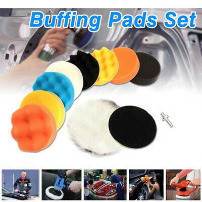Adapter  Accessories for Car Polisher Sponge  3 Inch  Polishing Pad Buffing Kit