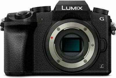 Panasonic Lumix DMC-G7 Mirrorless Camera Black 4K Camera Body Only