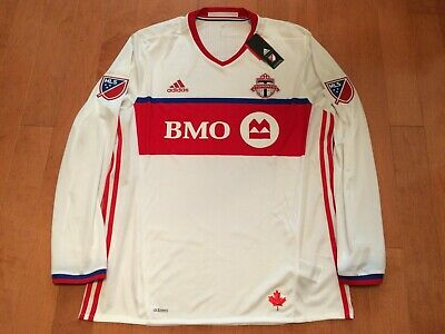 sports shoes a2a33 5be8c TORONTO FC TFC Soccer MLS Adidas Jacket XL Half Zip - $69.99 ...