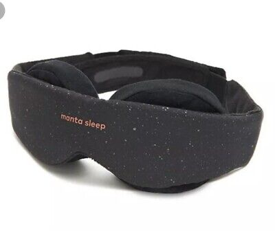 Manta 3D 100% Blackout, Customized Fit, No Pressure on Eyes, Ultimate Sleep Mask