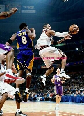 "ALLEN IVERSON KOBE BRYANT - NBA Basketball LAKERS Poster 24"" X 36""- NEW 1"