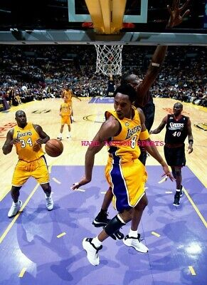 "KOBE BRYANT SHAQUILLE O'NEAL - NBA Basketball LAKERS Poster 24"" X 36""- NEW A"