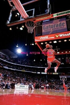 "MICHAEL JORDAN - NBA Basketball Poster 24"" X 36""- NEW 8"