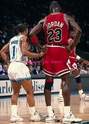 "MICHAEL JORDAN MUGGSY BOGUES - NBA Basketball Poster 24"" X 36""- NEW 1"