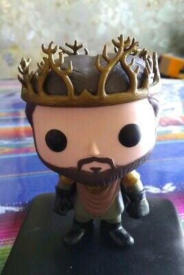 Funko Pop! Renly Baratheon GOT Vaulted Loose out of box oob Authentic