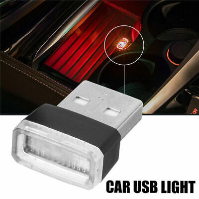 Red USB Wireless Flexible Neon Ambient LED light Lamp Car Interior Decoration