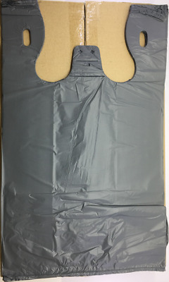1000 x Plastic Singlet Grocery Shopping Checkout Bags - Large