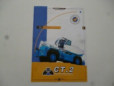 CT 2 Intelligent Grue Systems Mobile Grues Compact Diable Brochure comme Photos