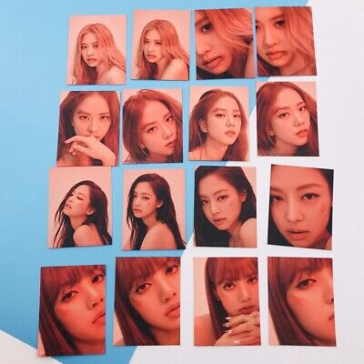 16 Pcs/Set Blackpink HD Photocard Kill This Love Concert Paper Photo Cards