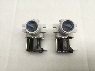2 x Venini Washing Machine Hot & Cold Water Inlet Valve VWM51 VWM71