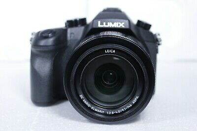 Panasonic DMC-FZ1000 LUMIX Bridge 4K Camera 20.1MP Leica Lens Black