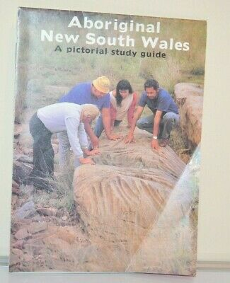 Vintage Aboriginal NSW Pictorial Study Guide Map Central Mapping Authority 1987