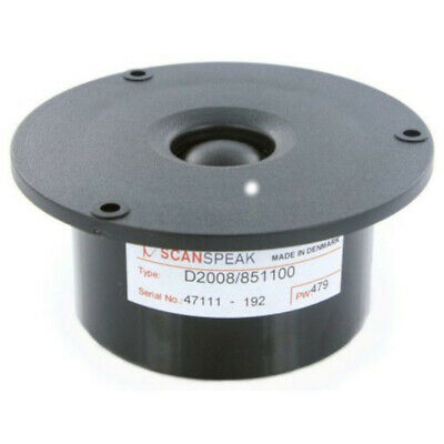 Scan Speak 3 4 Dome Tweeter Classic attractive choice for any speaker system