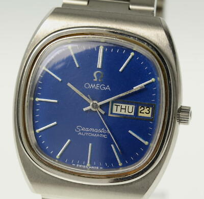 OMEGA Seamaster TV Screen Date-day Automatic cal.1020 Men's Wrist Watch_494930
