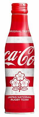 F/S NEW Coca Cola 2019 Japan Rugby World Cup limited 250ml full bottle aluminum