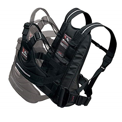 Motorcycle Child Safety Harness with Handles Reflective Material Black