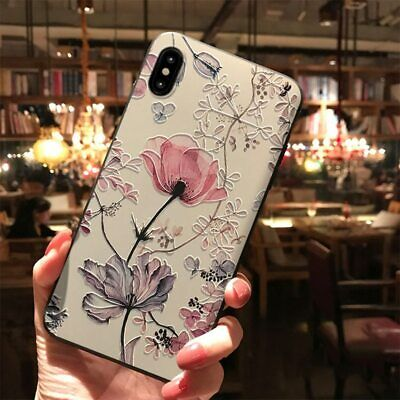 Luxury 3D Flower Shockproof Phone Case Cover For  Samsung Galaxy A50 A30 A40 A70