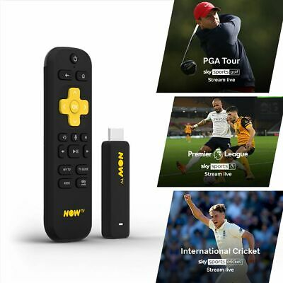 NOW TV Smart Stick with 1 Month Sky Sports Pass PRE-INSTALLED