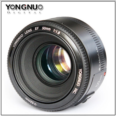 YONGNUO AF YN EF 50MM F1.8 Large Aperture Auto Focus Lens For Canon EOS Camera
