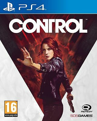 Control (PS4) IN STOCK NOW Brand New & Sealed UK PAL