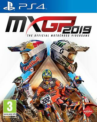MXGP 2019 (PS4) IN STOCK NOW Brand New & Sealed UK PAL
