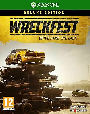 Wreckfest Deluxe Edition (Xbox One) IN STOCK NOW Brand New & Sealed UK PAL