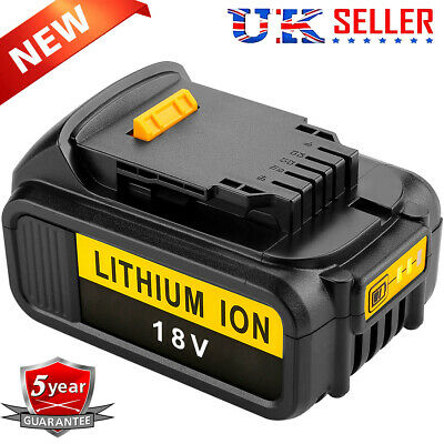 For DEWALT DCB182 XR Slide Battery Pack 18V 4.0Ah Lithium 20V MAX DCB203 DCB184