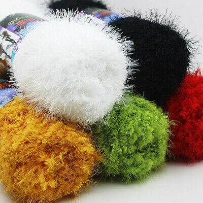 1Ball x 100g Worsted Soft Warm Weave Yarn Coral Mink velvet cashmere Knitting