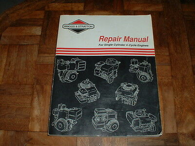 BRIGGS STRATTON Micro Engine Repair Manual 75HP 3 4 HP 4