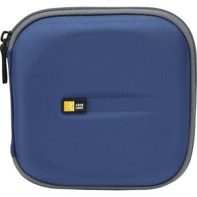 Case Logic CD Wallet For Up To 24 CDs (Blue/Yellow)