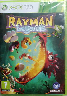 JEU VIDEO XBOX 360 RAYMAN LEGENDS neuf sous blister