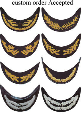 Supplier of hand embroidery cap visors,peak cap,hat visor,gold bullion wire,indi