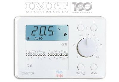Imit Techno Duo - Thermostat Programmable Journalier Ambiante Numérique