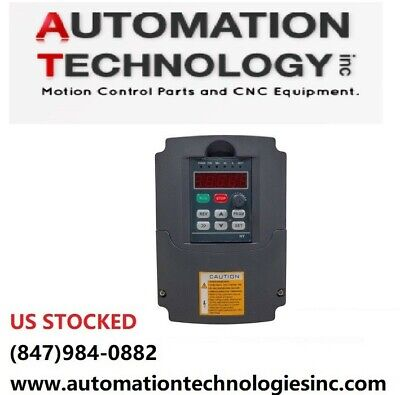 US Ship 5.5KW VFD Inverter Variable Frequency Driver 220VSpindle Controller