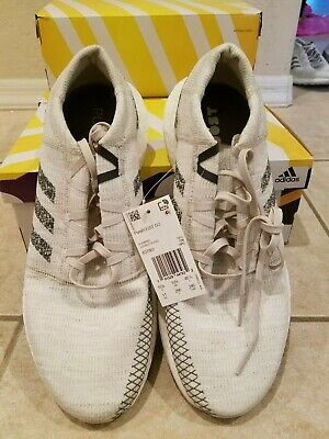 Brand New Men's Adidas PUREBOOST GO SHOES Non-Dyed/Grey/Raw White
