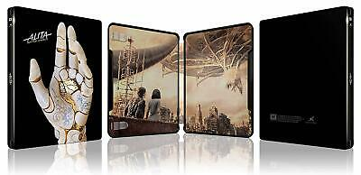 Alita Battle Angel 4K + 3D + Blu-Ray Zavvi Steelbook Sold Out + Marvel Art Cards