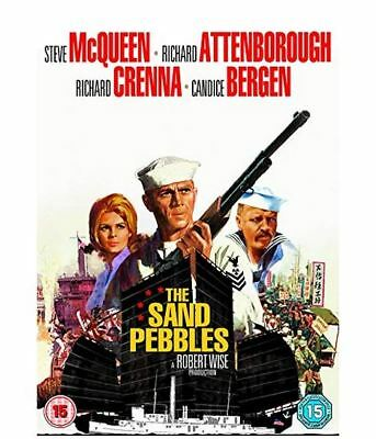 The Sand Pebbles 1966 Classic War Film, ALL REGION (New, Factory Sealed)