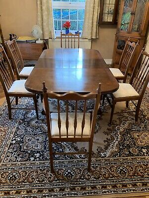 Antique 4/6/8 Seater  Pull Out Extending Dining  Table - Claw And Ball Feet