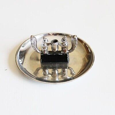 Hamilton Squirel Chrome Ashtray