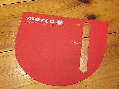 New Genuine Marco Qwikbrew Coffee Machine Membrane Label Replacement Cover Hot