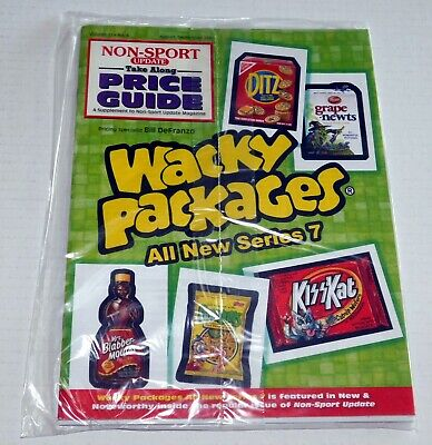 KISS Band Wacky Packages Card Price Guide Booklet Non-Sport Update Magazine 2010