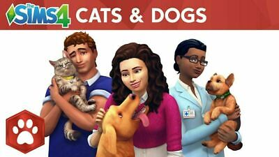 THE SIMS 4 Cats & Dogs Pc Mac Origin Key - $12 99 | PicClick