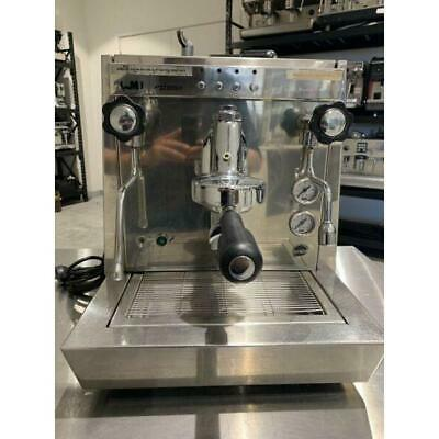 One Group Commercial Volumetric Plumbed ECM Coffee Machine