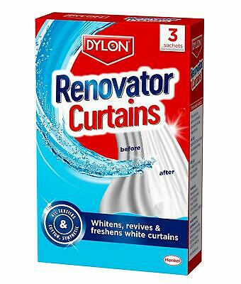Dylon Renovator Curtains (3 Sachets), Pack Of 6