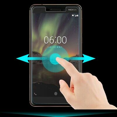 Scratch-resistant Screen Protector Glass Film HD for Nokia 3.1 6.1 8.1 8.1 plus
